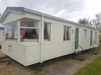 6 Berth 12ft wide static caravan for sale/LOW ground rent/Skegness/Chapel St Leonards/facilities