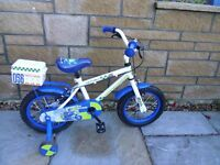 Child's Apollo Police Patrol Bicycle