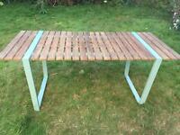Modern garden table