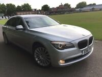 BMW 7 SERIES 730LD LIMOUSINE 2011 (61) AUTO FULL BMW HISTORY NEW MOT TOP SPEC SENSIBLE MILEAGE CLEAN