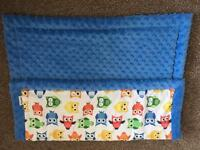Baby minky blanket-as new