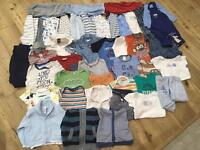 3-6 months boys clothes bundle for sale in Widley