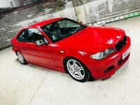 BMW 318CI M SPORT COUPE E46 IMOLA RED BLACK LEATHER NOT 320