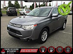 2014 Mitsubishi Outlander ES AWC HITCH 2""