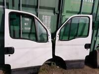 Iveco Daily front doors. Clean doors