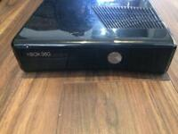 Black Xbox 360, 250GB available with 46 games