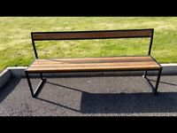 4 VINTAGE STYLE BENCH SEATS