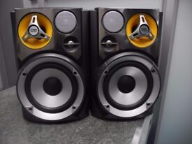 Max Sound 3-Way Max Bass Speakers ( Pair )