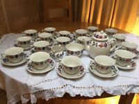 Adams Old Colonial tea set