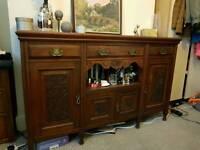 Beautiful wooden cupboard