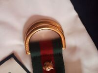Gucci belt 32 waist used