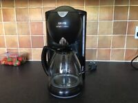 Krups coffee making machine - black complete with instruction