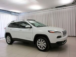 2016 Jeep Cherokee IT'S A MUST SEE!!! LIMITED 4X4 SUV w/ LEATHER