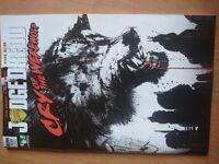 Judge Dredd Cry of the Werewolf comic sub cvr