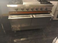 """""Reduced to Sell"""", Ambassade, stainless steel range cooker..."