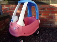Little Tikes Pink Cozy Cosy Coupe Car