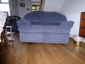 Two seater sofa fire resistant & scotch guarded