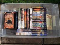 Sharpe Books & DVD collection - Bernard Cornwell