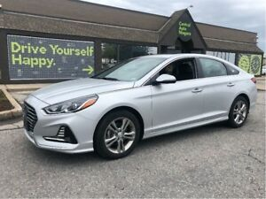 2018 Hyundai Sonata GLS / LEATHER / SUNROOF / BLUELINK