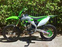 Motocross bike KXF 250 not rm crf yz ktm motocross