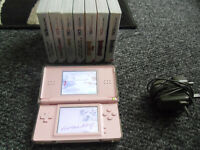 NINTENDO DS PINK CONSOLE