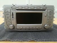 Ford Focus 2008 Genuine Radio Unit with Sat Nav (No SD) Model No: 9M5T18K931DA