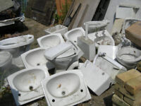 Basins and toilets joblot