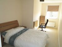 A generously double bedroom in two good sized double bedrooms furnished.