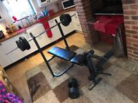 Pro power home gym equipment bench press fitness
