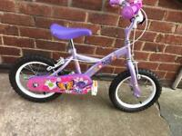 Girls Bike 14inch very good used condition