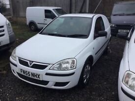 DIESEL 55 REG VAUXHALL CORSA ONE OWNER FULL SERVICE HISTORY LONG MOT IN SUPERB CONDITION