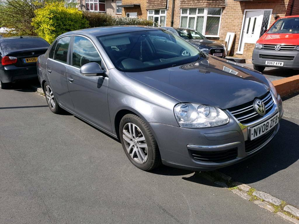 2008 08 vw volkswagen jetta 2 0 tdi se grey 140bhp 6 speed not golf or passat in bradford. Black Bedroom Furniture Sets. Home Design Ideas