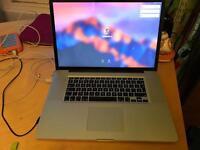 Apple MacBook Pro 17 in hi res screen, mid 2009