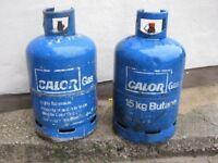 2 x 15kg Calor Gas Bottles