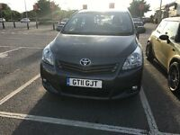2011 Toyota verso 7 seater . Low milage