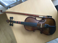 Violin 1/10 - beautiful sound and excellent condition