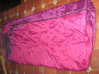 Karrimor sleeping bag hardly used. Adult size.originlly 55.00 asking 15.00