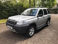 LAND ROVER FREE LANDER TD4 ES AUTO 2002 DIESEL FULLY LOADED LEATHER DRIVES THE BEST VERY CLEAN