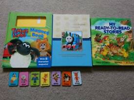 Timmy Time, Thomas the Tank Engine and ready to read stories