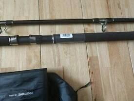 Daiwa rods x 2. Uptide rods