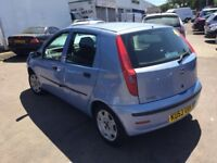 Fiat Punto 1.2cc,10 months mot,ac,cd,5 doors,excellent runner,service history,economical & reliable