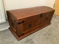 Solid Wood Storage Chest