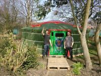 Authentic Mongolian Yurt -glamping or beautiful Garden furniture - 5.8m diameter