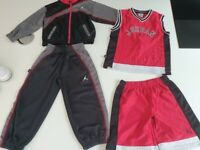 Nike air age 5 and 6. Tracksuit & shorts and Vest top