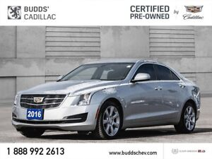 2016 Cadillac ATS 2.0L Turbo Certified Pre-Owned 2.99 % FINAN...