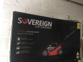 New Petrol mower