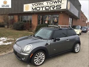 2010 MINI Cooper Hardtop 6 SPD | HEATED SEATS | ROOF RACK | SUNR