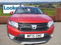 Dacia Sandero STEPWAY AMBIANCE DCI (red) 2015-03-04