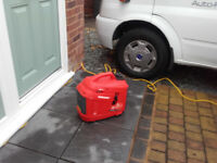 Top SUN Digital Generator petrol only used once cost over £200.00