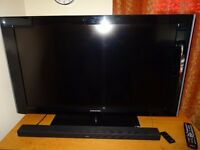 "SAMSUNG 40"" HD 1080p TV with Freeview and Remote..."